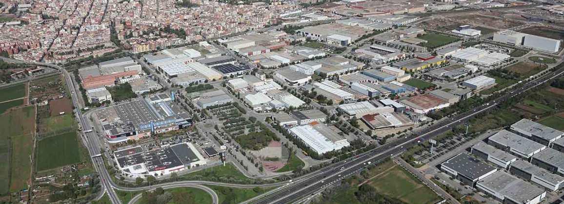 Vista aèria del Parc Empresarial de Gavà.